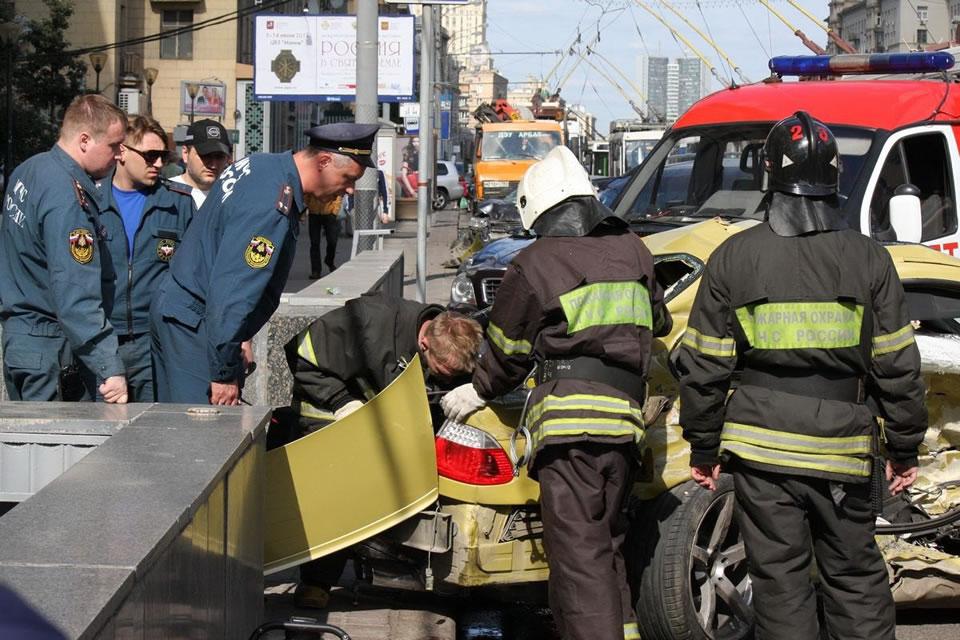Москва — город самых неаккуратных водителей: рейтинг от «АльфаСтрахования»